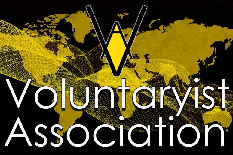 world map voluntaryist association style